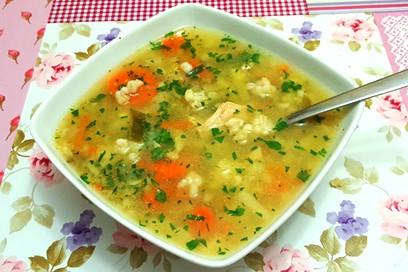 Zupa Pęczakowa Monikahonorypl