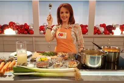 """""""Ryba na szpinaku"""" – zupa przygotowana dla Pytania na Śniadanie TVP2"""