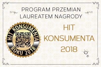 """Program Przemian wg Moniki Honory otrzymał nagrodę """"Hit Konsumenta"""""""